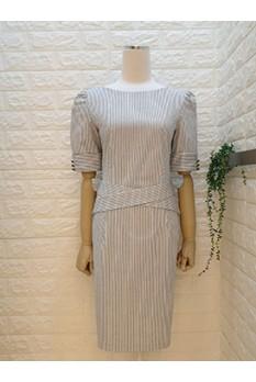 Criss Cross Belt Dress
