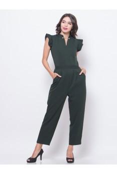 Frill Sleeve Jumpsuit