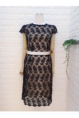 Lace Back Key Hole Dress