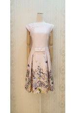 Spring Blossom Pink Dress