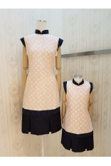 Playful Pola Bear Cheongsam Dress
