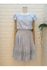 Heart Shape Print Tulie Sleeve Dress