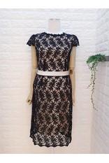 Lace Back Key Hole Dress