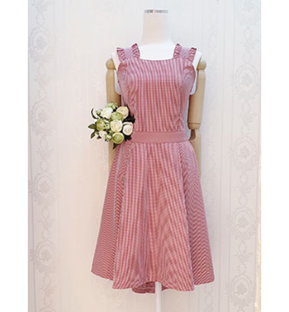 Checker Bow Dress