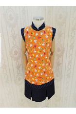 Fox Print QiPao Dress-Girl