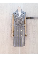 Jacket Collar Ck Dress