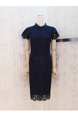 Kr High Collar Dress