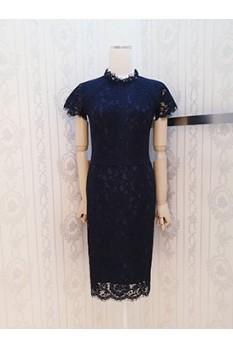 Kr High Collar Dress