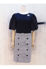 Pluff Sleeve Ck Dress