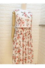 Rose Garden Dress-White