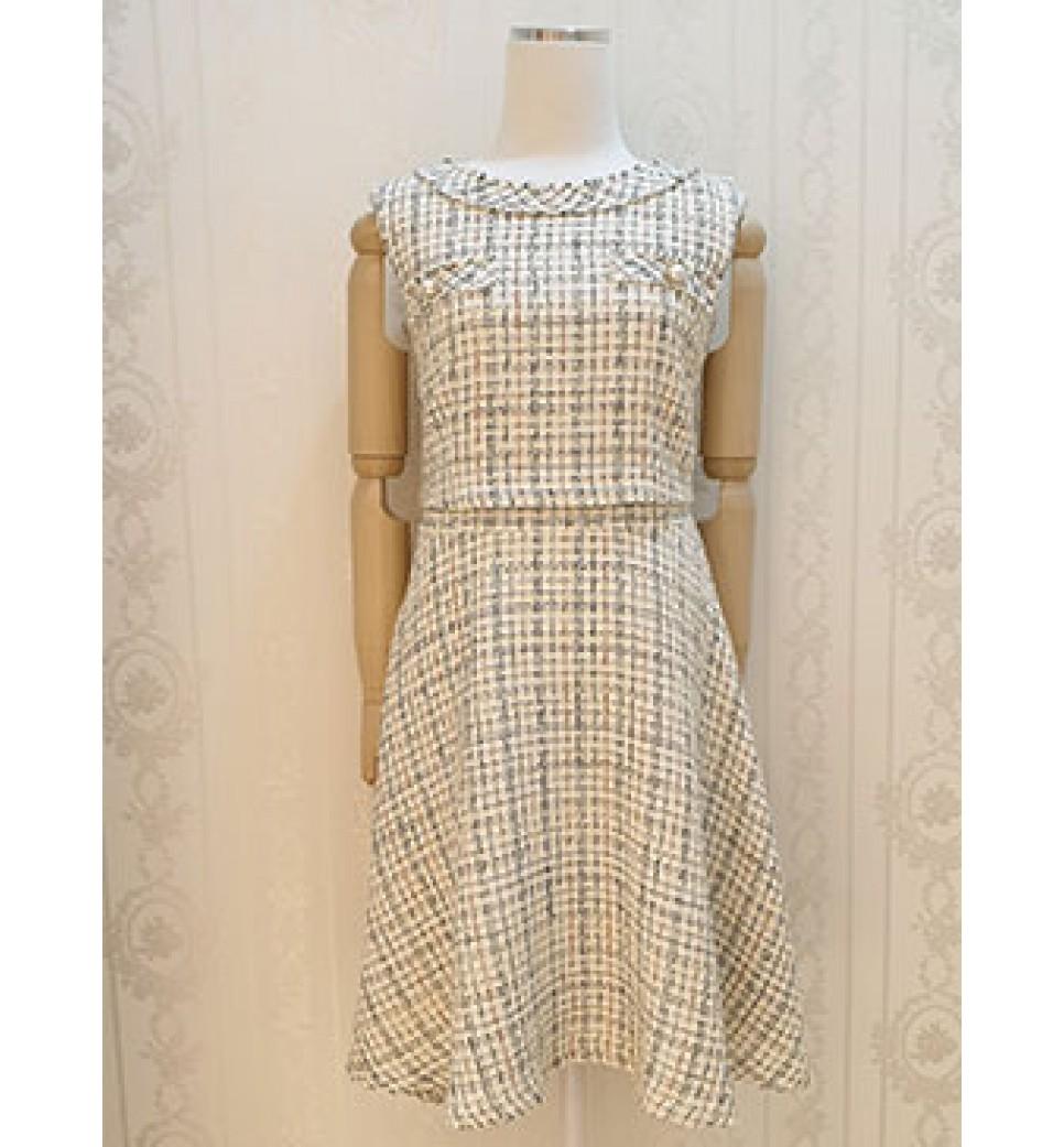 Tweet Crop Top Dress