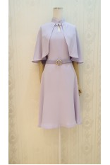 Lavendar Cape Dress